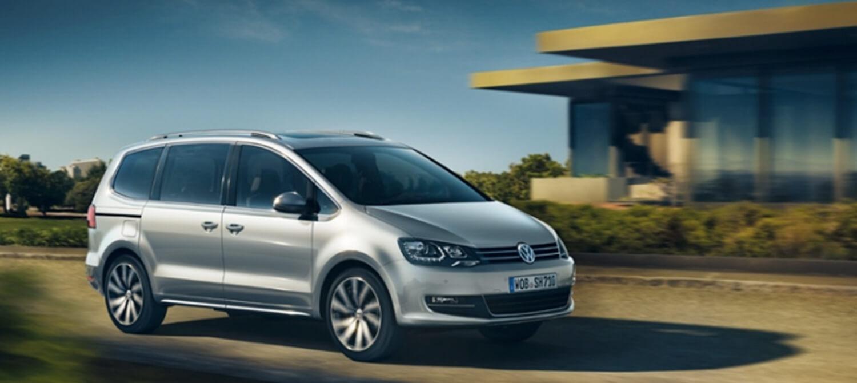 VW Sharan hos Uggerhøj - den nye Sharan klar til at transportere hele din familie, både ...